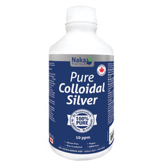 Naka Platinum Colloidal Silver (600ml)