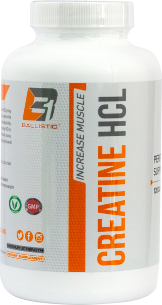 Ballistic Labs Men's Health Creatine HCL 120 Capsule
