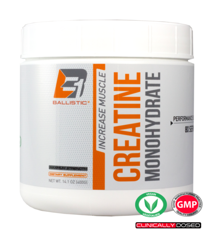 Ballistic Labs  Ballistic Labs: Creatine Monohydrate (80 serving)