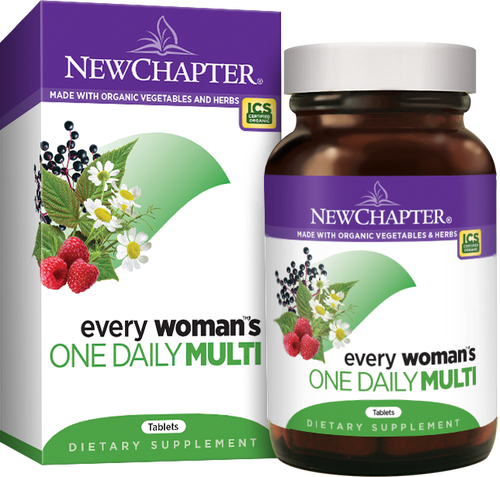 New Chapter  Every Woman's One Daily (72 tablets)
