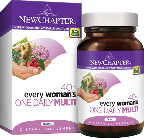 New Chapter MultiVitamins & Minerals Every Woman's 40+ One Daily (48 tablets)