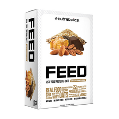 Nutrabolics FEED Real Food Protein & Oats Bar (12 bars)