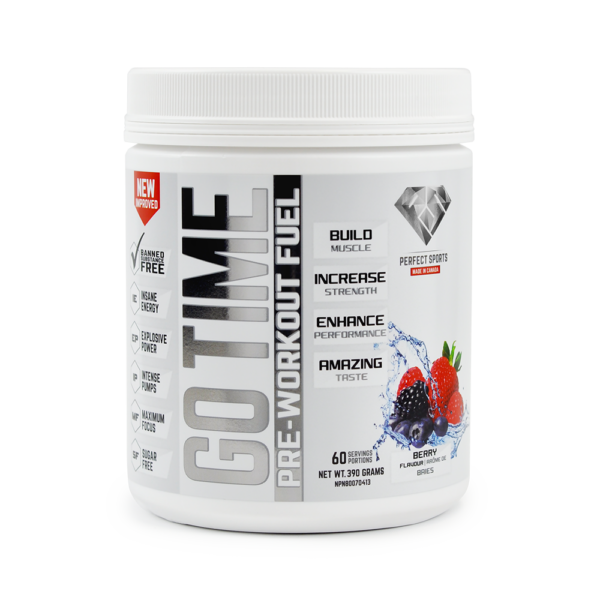 Perfect Sports  GO TIME Pre-Workout (160g) EXP: 05/2019