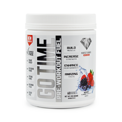GO TIME Pre-Workout (160g) EXP: 05/2019