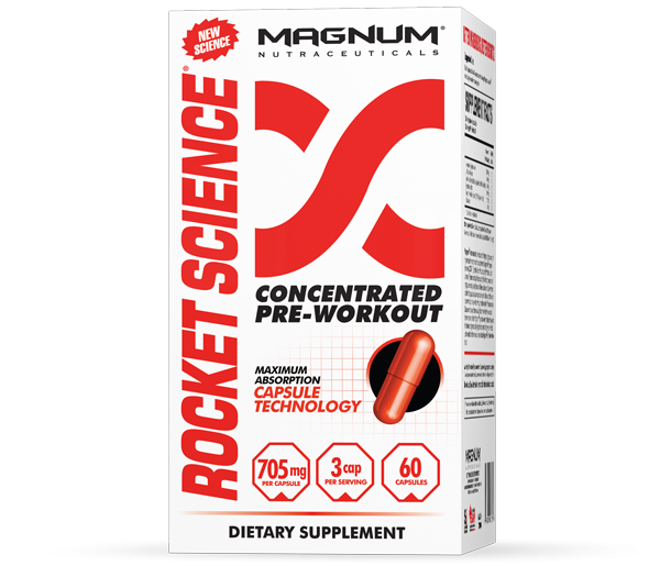 Magnum Nutraceuticals  Rocket Science (60 caps)