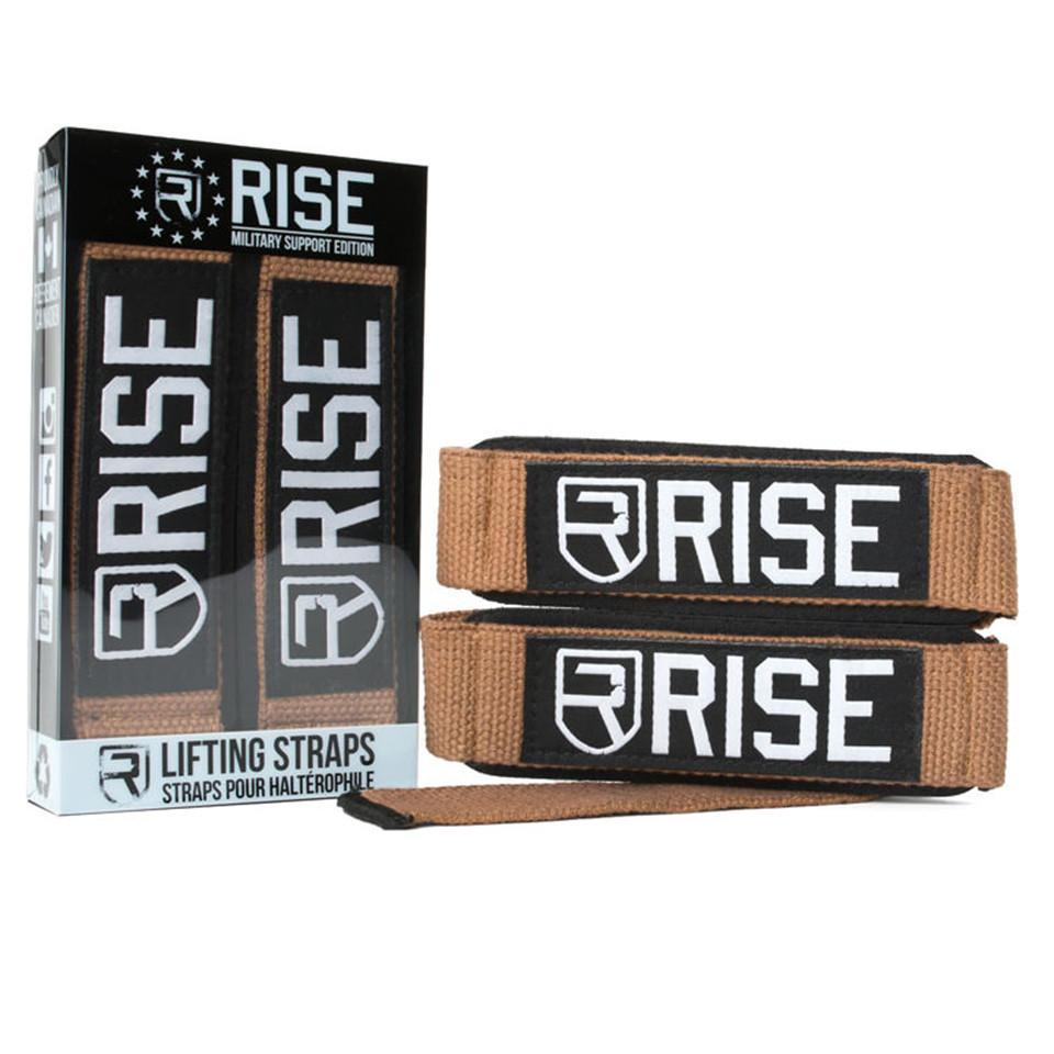 rise  LIFTING STRAPS – MILITARY