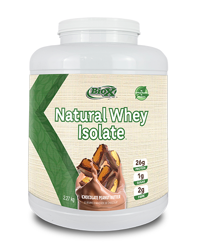 BioX BioX Power Whey Isolate All Natural (5 lbs)