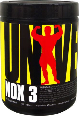 Universal Nutrition  NOX 3 (180 Tablets)