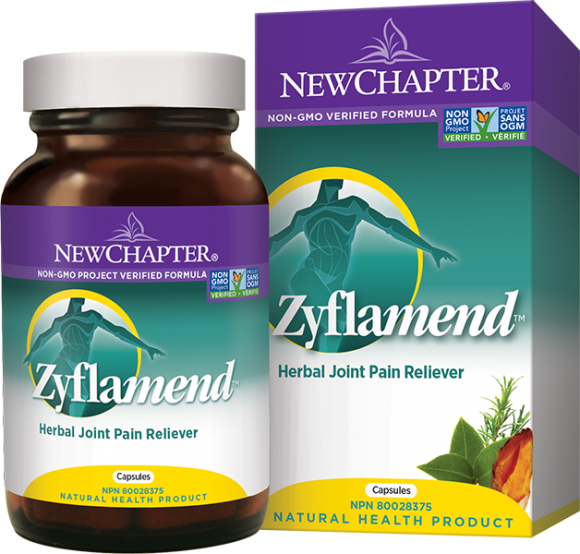 New Chapter  Zyflamend™ Herbal Joint Pain Reliever (120 Caps)
