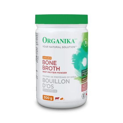 organika  Organika BEEF BONE BROTH PROTEIN POWDER GINGER (300g)