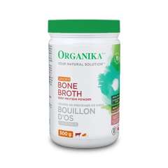Organika BEEF BONE BROTH PROTEIN POWDER GINGER (300g)