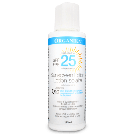 organika  Organika COENZYME Q10 SUNSCREEN LOTION (125ml)