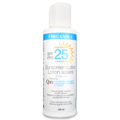 Organika COENZYME Q10 SUNSCREEN LOTION (125ml)