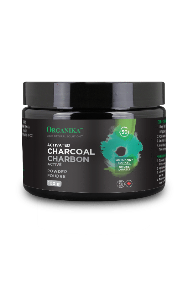 organika Vitamins ACTIVATED CHARCOAL POWDER (40g)