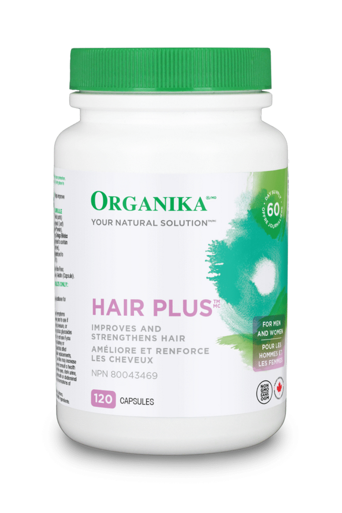 organika BEAUTY & WELLNESS Organika HAIR PLUS (120 caps)