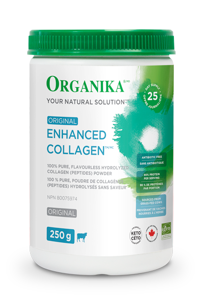 organika  Organika ENHANCED COLLAGEN ORIGINAL - COLLAGEN PEPTIDES (250g)