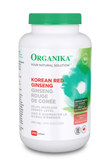 Organika KOREAN RED GINSENG (200 caps)
