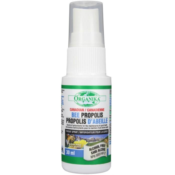 organika  Organika Bee Propolis Throat Spray Alcohol Free (30ml)