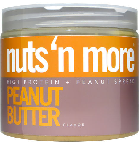 Nuts 'N More Peanut Almond Butter Peanut Butter (454g)