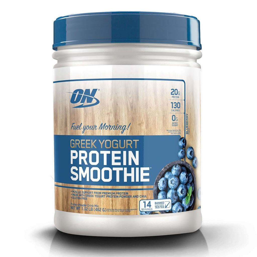 ON - Optimum Nutrition  GREEK YOGURT PROTEIN SMOOTHIE (462g) EXP:05/2019
