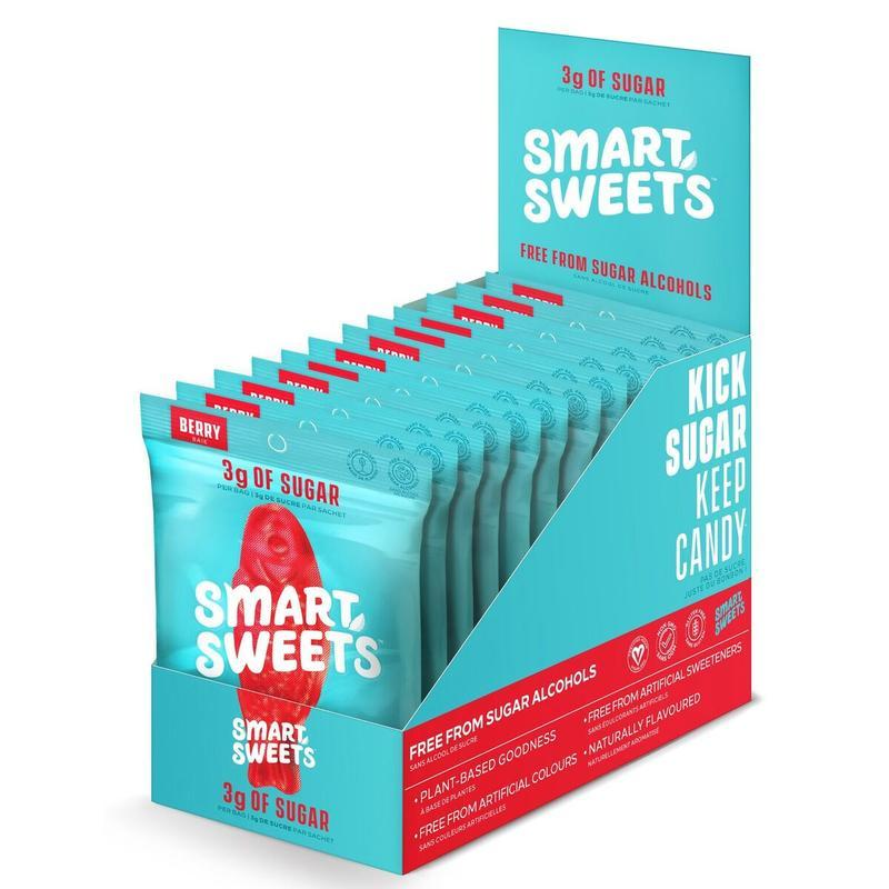 Smart Sweets Candy SmartSweets Sweet Fish Berry Box of 12