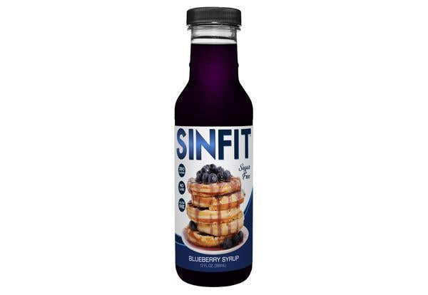 Sinfit Nutrition SINFIT Nutrition Sinfit Nutrition Syrup - Blueberry (355ml)