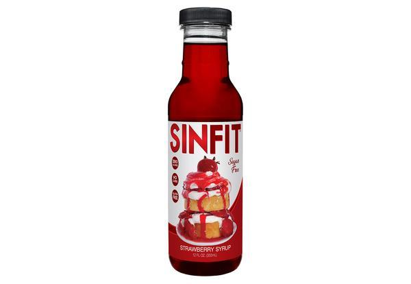 Sinfit Nutrition  Sinfit Nutrition Syrup - Strawberry (355ml)