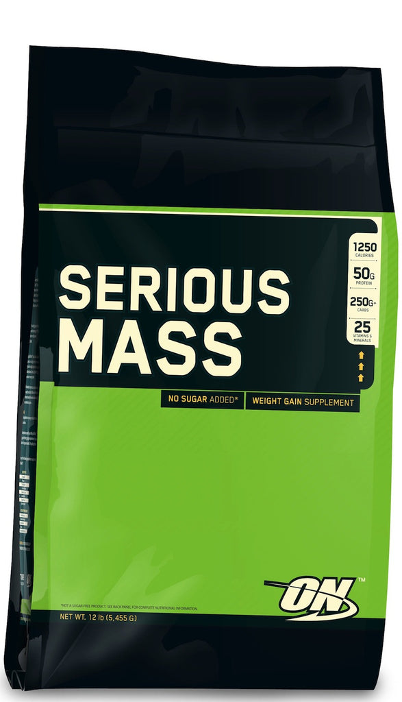 ON - Optimum Nutrition  Serious Mass (12 lbs)