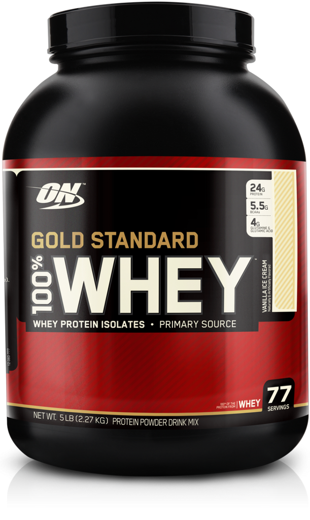 ON - Optimum Nutrition Protein Powders 100% Whey Gold Standard  (5 lbs)