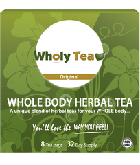 Wholy Tea (32 Day Supply)
