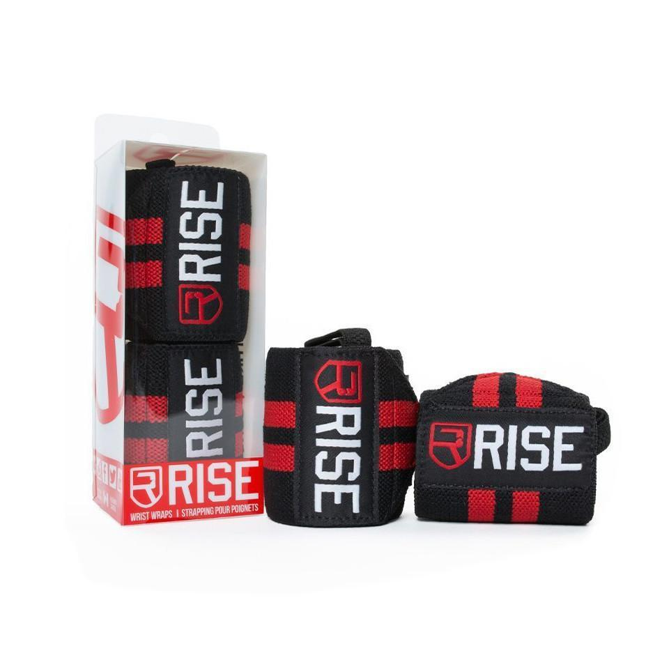 rise  WRIST WRAPS – Red