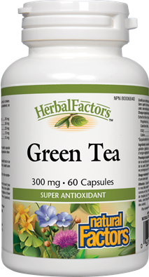Natural Factors  Natural Factors Green Tea (60 caps)