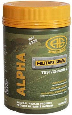 Advanced Genetics Testosterone Enhancers ALPHA (90 caps)