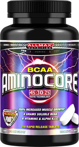 Allmax Nutrition Muscle Recovery Allmax Nutrition: AMINOCORE BCAA (210 tabs)