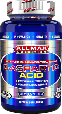 Allmax Nutrition Testosterone Enhancers Allmax Nutrition: D-Aspartic Acid (100g)