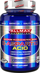 Allmax Nutrition: D-Aspartic Acid (100g)