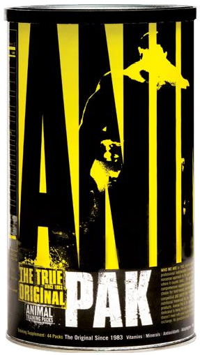 Universal Nutrition MultiVitamins & Minerals Animal Pak (44 packs)