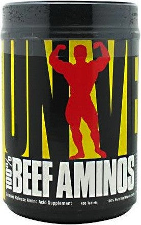 Universal Nutrition Beef Protein Beef Aminos (400 tabs)