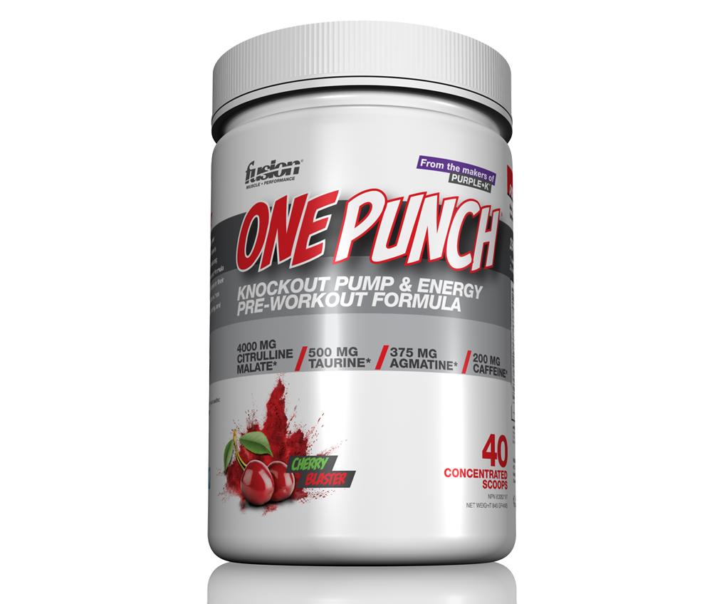 Fusion Bodybuilding  ONE PUNCH - KNOCKOUT PWO (40 SCOOPS)