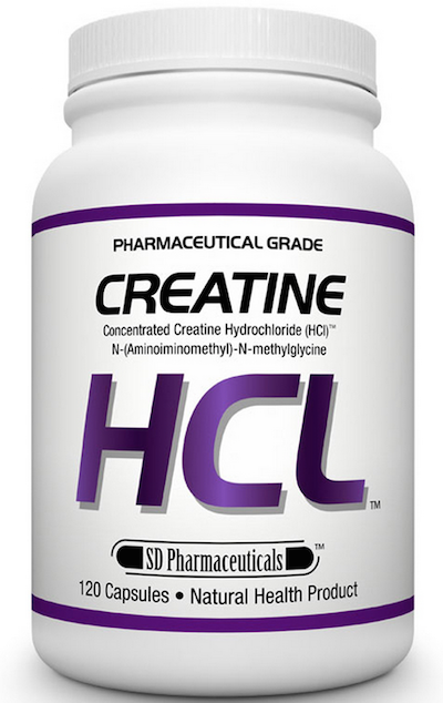 SD Pharmaceuticals Energy Stimulant Free Creatine HCL (120 caps)