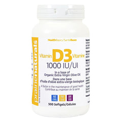 Vitamin D 1000IU (500 softgels)