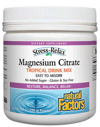 Natural Factors  Natural Factors Magnesium Citrate (250g)