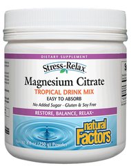 Natural Factors Magnesium Citrate (250g)
