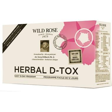 Wild Rose Detox and Cleansing Herbal D-Tox Kit by Wild Rose (12 Day)
