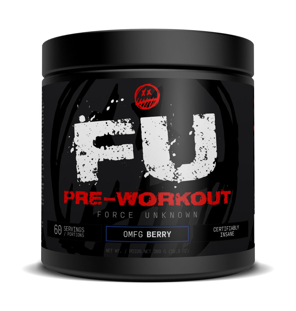 Force Unknown  FU Pre-Workout (60 servings)