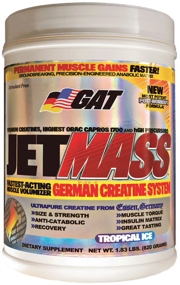 GAT During Workout GAT JetMass (820g)
