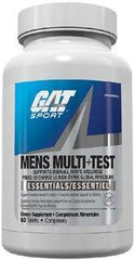 GAT: Men's Multi + Test (60 tablets)