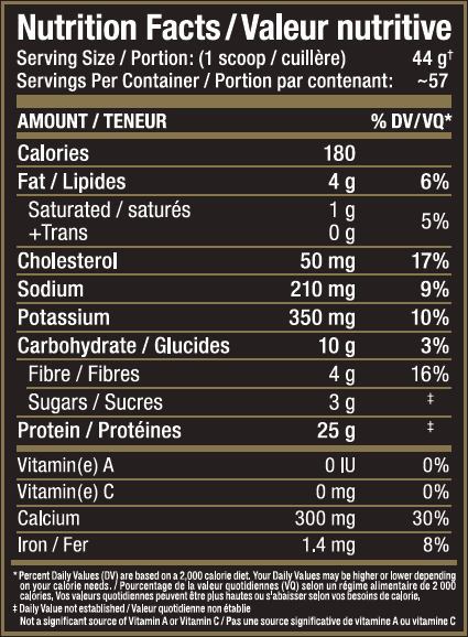 Ingredients for Allmax Nutrition: Hexapro (5.5 lbs)