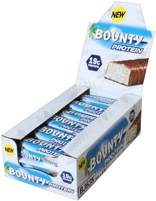 Mars Wrigley Confectionery  Bounty Protein Bar (box of 18)