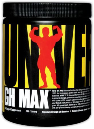 Universal Nutrition  Universal Nutrition: GH Max (180 Tabs)